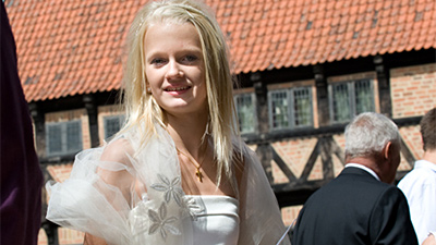 Den Gamle By - private selskaber konfirmation