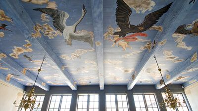 Den Gamle By - the Avian celling at the Mintmaster Mansion